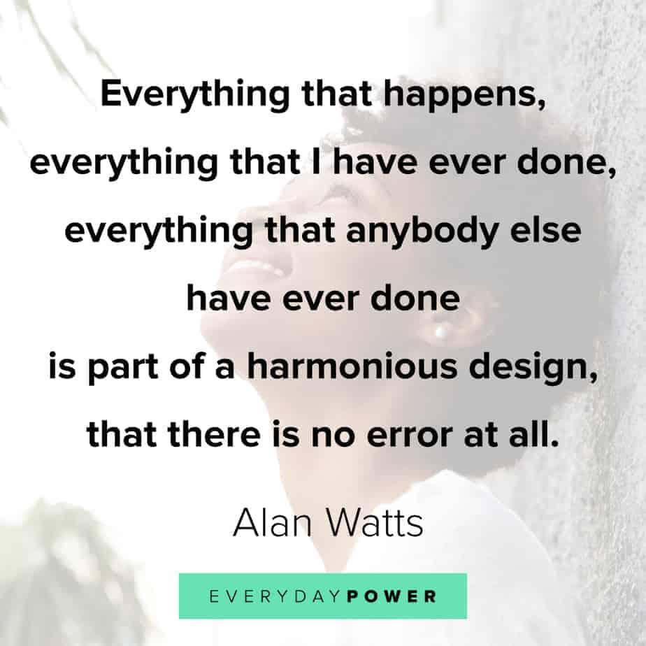 Alan Watts Quotes on balance
