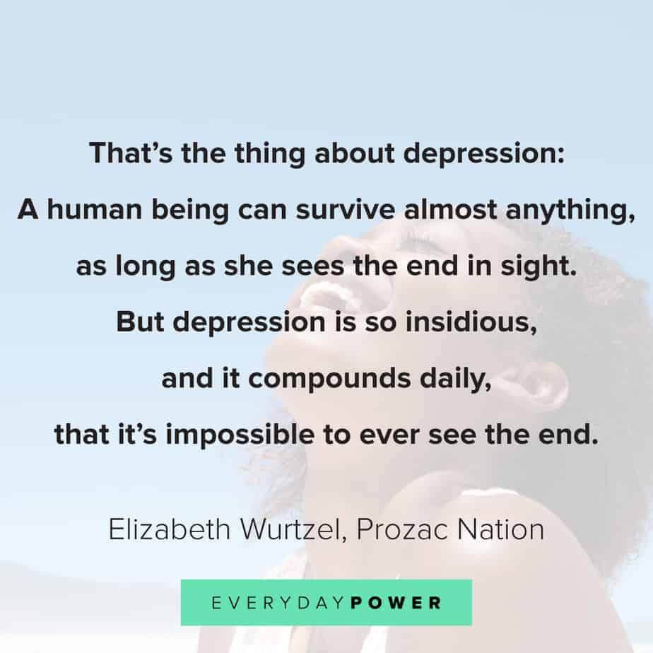 Depression quotes to help