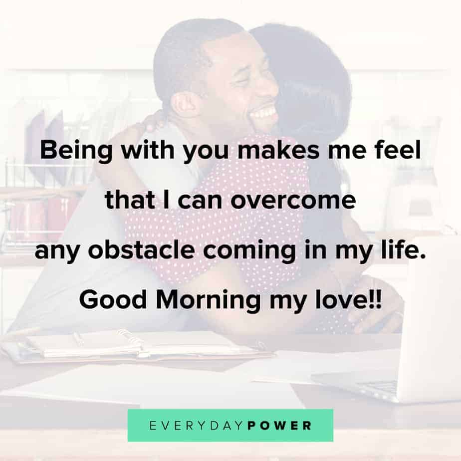 Good Morning Quotes for Him to keep your love strong
