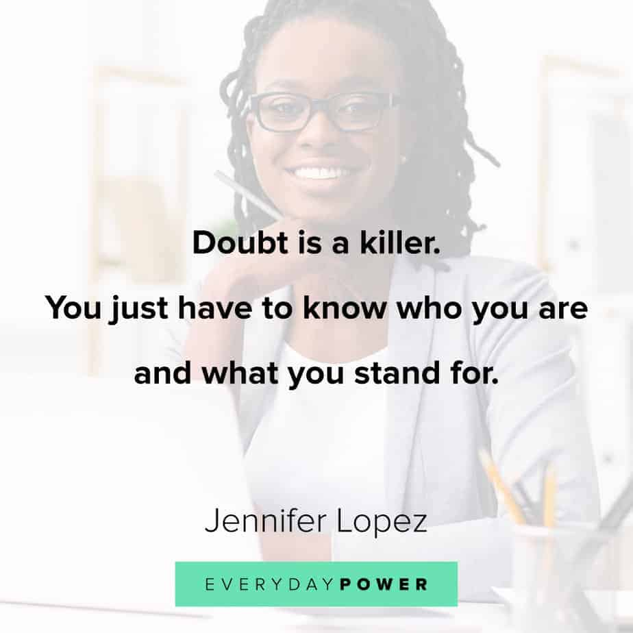 Inspirational quotes for women about self doubt