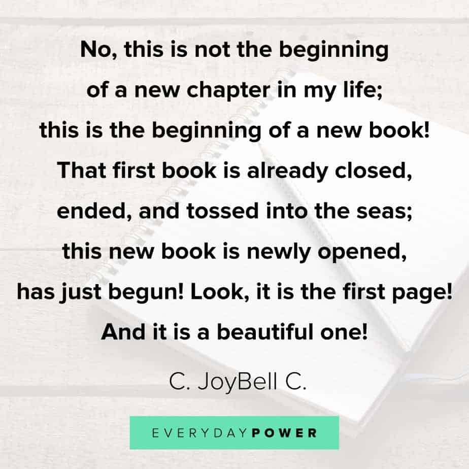 powerful Quotes about new beginnings