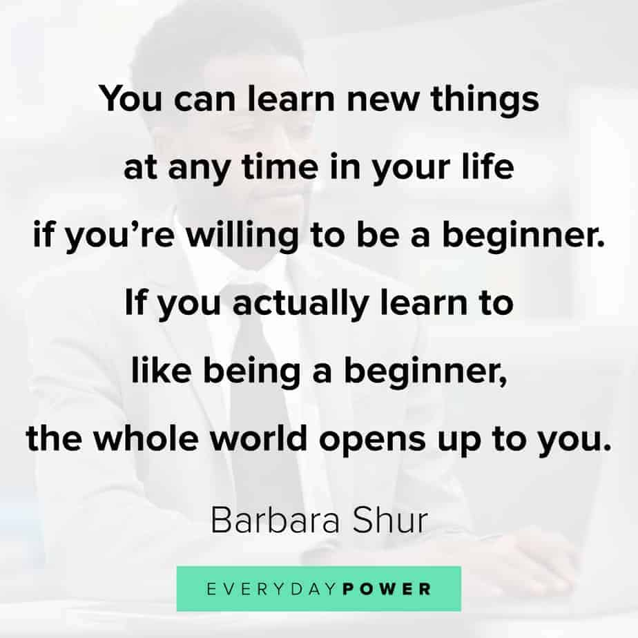 Quotes about new beginnings and time