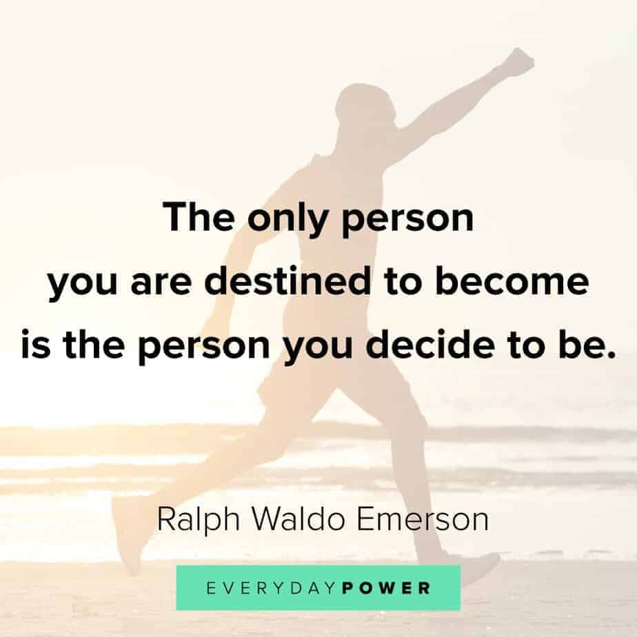 Ralph Waldo Emerson quotes on destiny