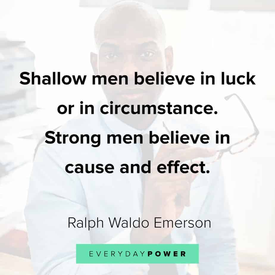Ralph Waldo Emerson quotes that will change the way you think