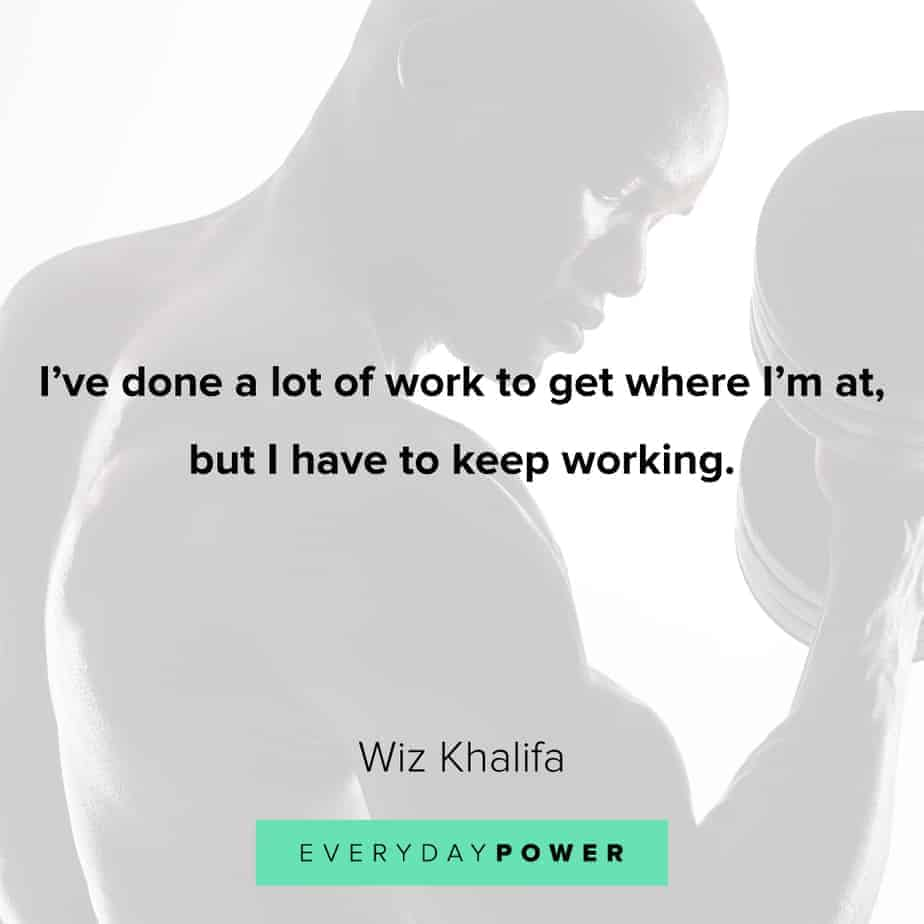 best Rap Quotes about hard work