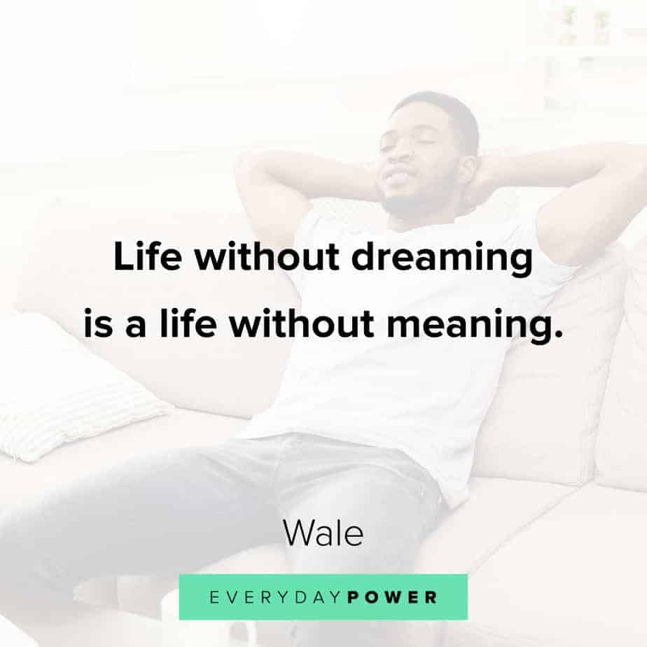 best Rap Quotes about dreams