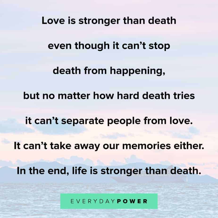 strong loss of a loved one quotes