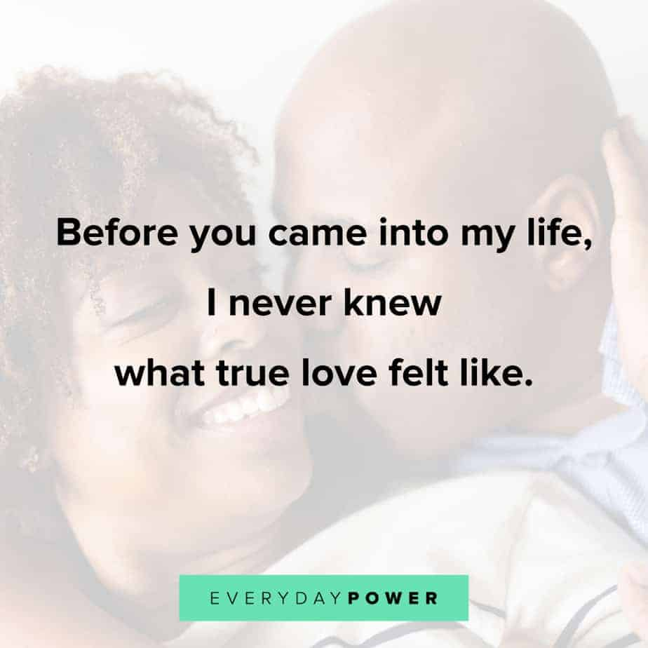 Love quotes for him to appreciate your man